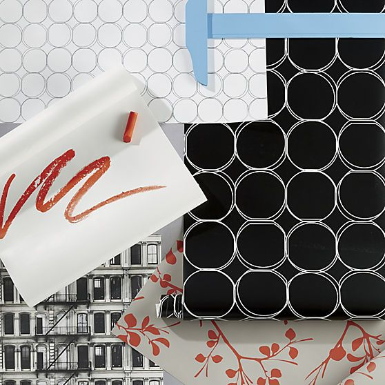 Shop for contemporary wallpaper at CB2. Browse a variety of designs including floral and graphic prints in self adhesive and traditional styles.