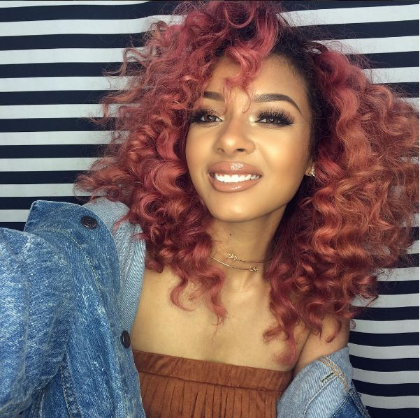 236 best colored dyed hair images on pinterest curls style want long body waves or a silky straight bob while protecting your natural hair these stunning sew in extension hairstyles will make your hair wish come pmusecretfo Images