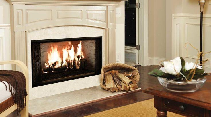 Wood Majestic Fireplace