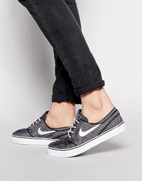 Nike - SB Janoski - Baskets en chambray
