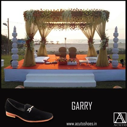 Marriages are made in heaven! And Goa certainly knows how to make them glitter with splendor!  This wedding season we recommend this!    http://www.acutoshoes.in/shop/mens-slip-ons/garry/