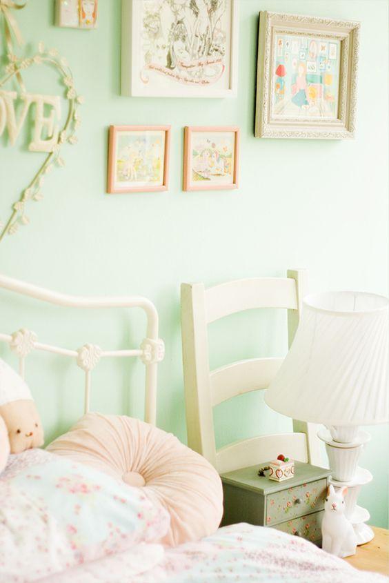 Image Result For Teen Room Mint Green Grey Kawaii Green