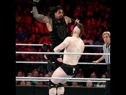Roman Reigns & Dean Ambrose vs League of Nations - WWE Live 3/27/2016 fu...