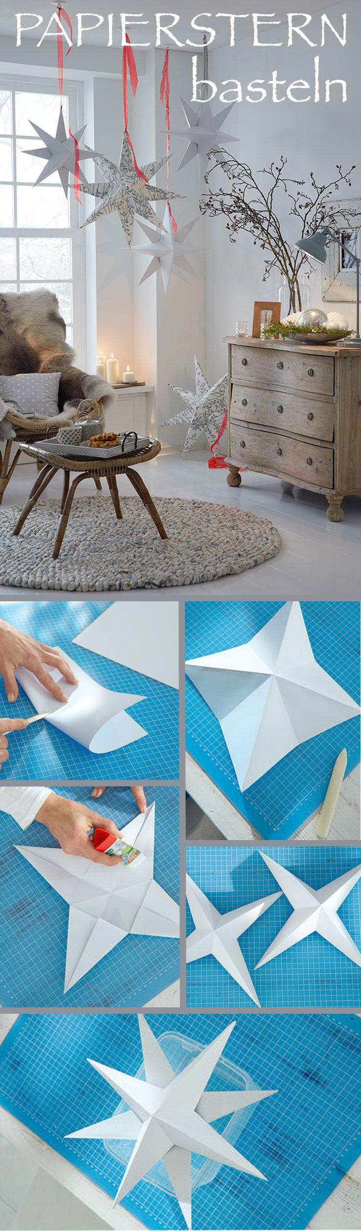 die besten 25 sterne basteln ideen auf pinterest sterne. Black Bedroom Furniture Sets. Home Design Ideas