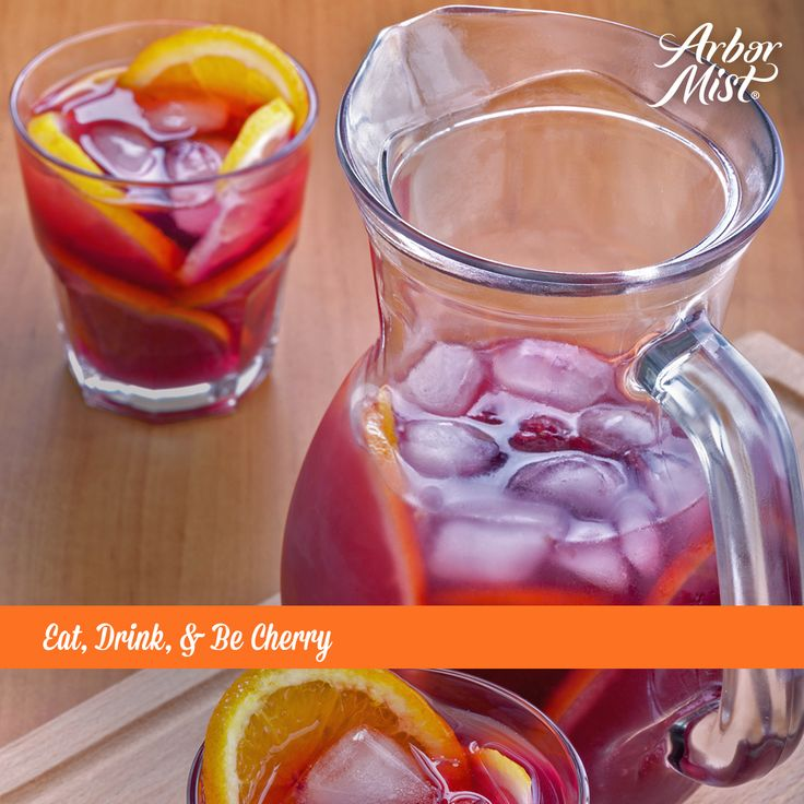 Eat, Drink, & Be Cherry with this easy #holiday #punch #recipe featuring #ArborMist!  Ingredients: 2 Granny Smith Apples, chopped 1 orange, cut into wedges 1 punnet fresh cherries 1 750ml bottle Arbor Mist Cherry Red Moscato 500ml cranberry juice cocktail concentrate ice cubes  Instructions: In a large jug, add the apples, orange and cherries. Add the ice then pour in the cranberry juice cocktail. Top with Arbor Mist Cherry Red Moscato and stir before serving.