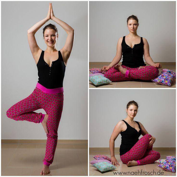 FREEBOOK Damenhose RAS, Hose, Yogahose, Yoga Jogging Hose für Frauen / Damen nähen, 36-50