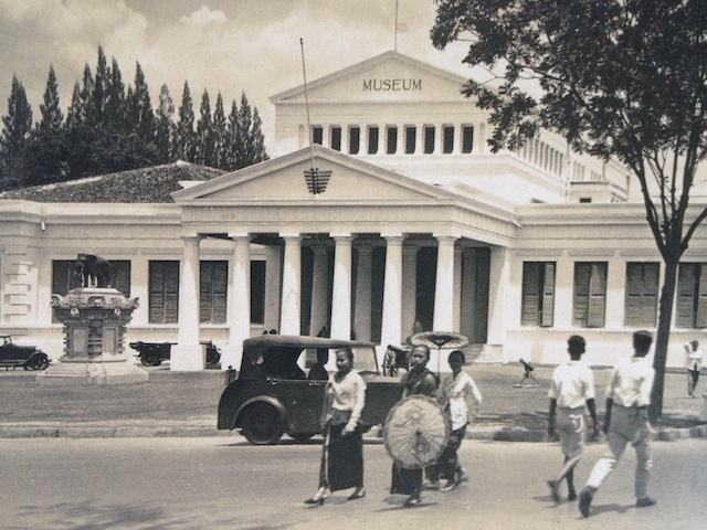 Jakarta National Museum in the old days.
