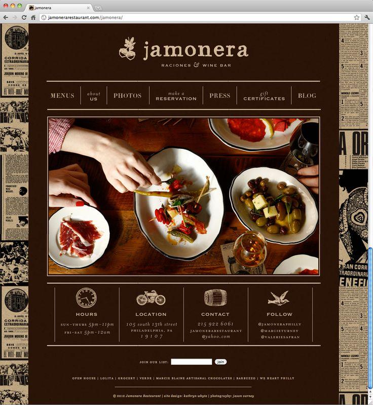 31 best web design images on pinterest design websites site web design restaurant website designspanish forumfinder Image collections