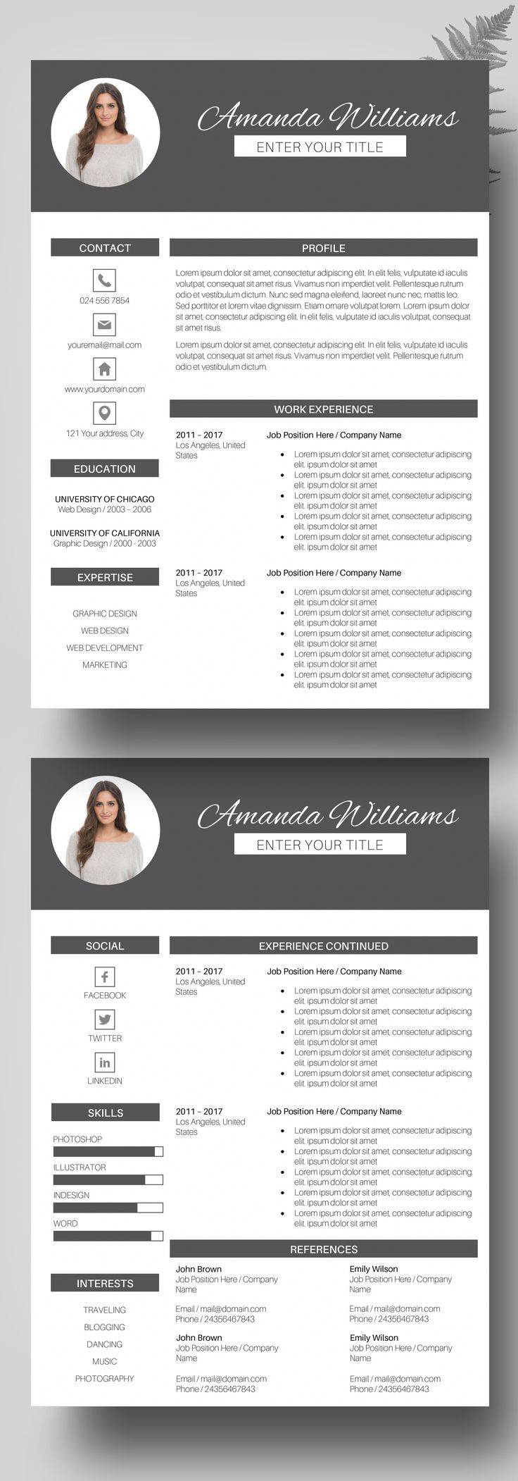 17 best ideas about free resume templates word on pinterest