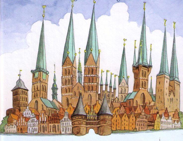 Lübeck 7 Türme