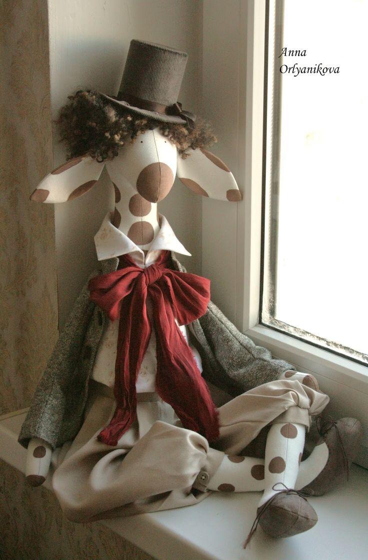 Куклы Анны Орляниковой