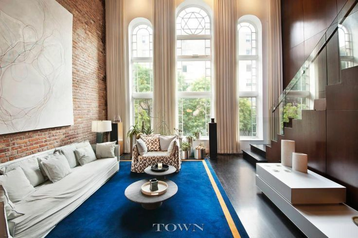 Live in a Swanky Former East Village Synagogue for $30K a Month   6sqft