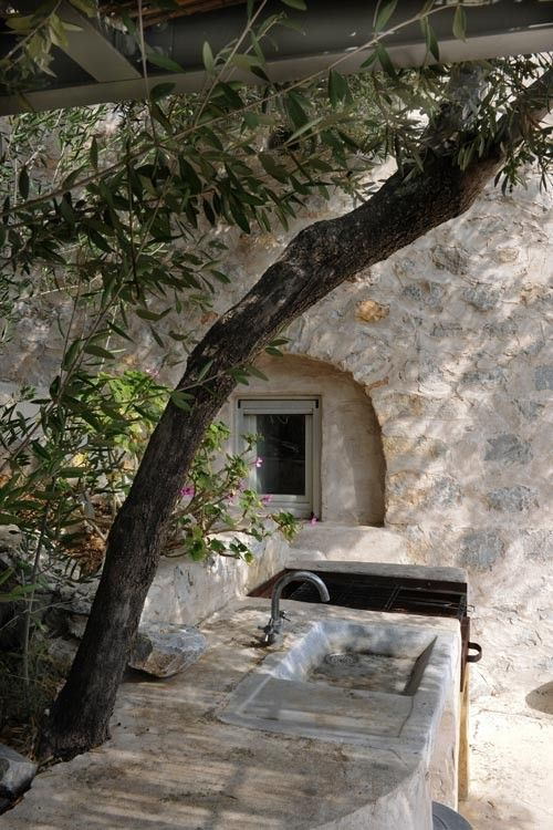 """""""Maina"""" is a tower-house residence in Exo Nyfi, an abandoned traditional settlement in Eastern Mani, Peloponnese, that was designed in accordance with the vernacular housing types in the conservati…"""