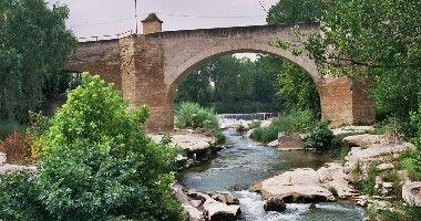 castelseras - Puente sobre el Guadalope