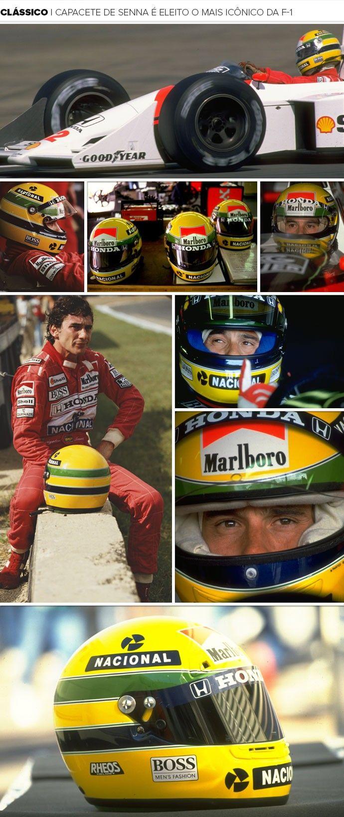 Mosaico Capacete Senna