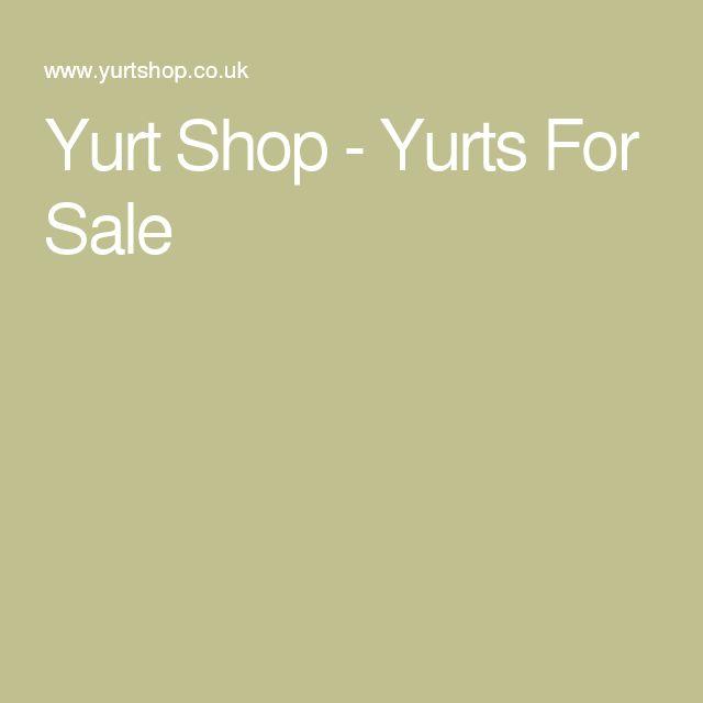 Yurt Shop - Yurts For Sale