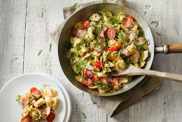 One-Pan Tortellini for Two Recipe