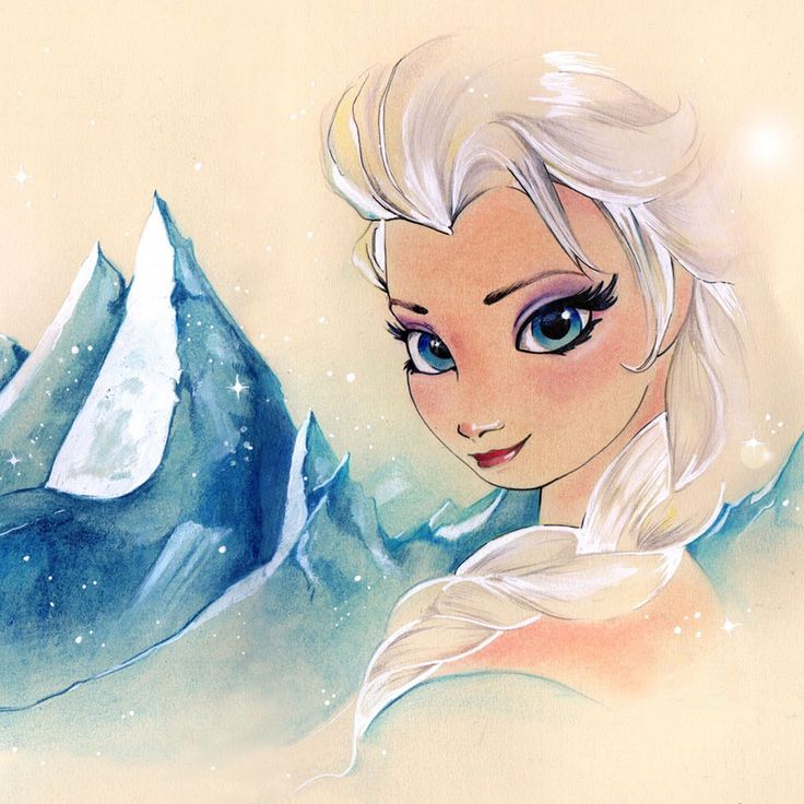 This probably has to be my favourite picture of Elsa