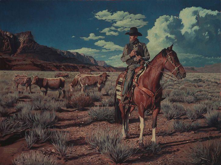 Открытка дикий запад
