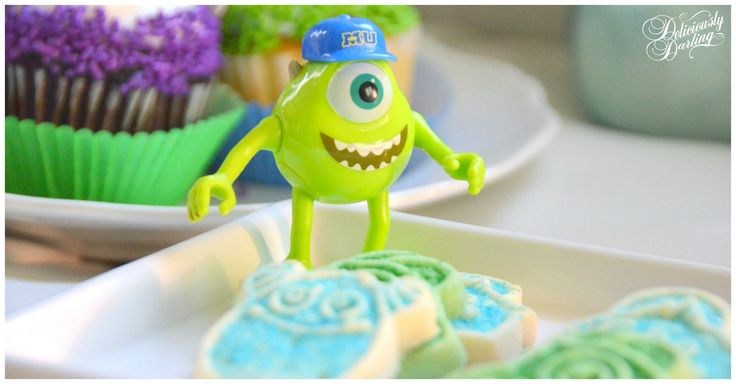 Monsters University Party #deliciouslydarling