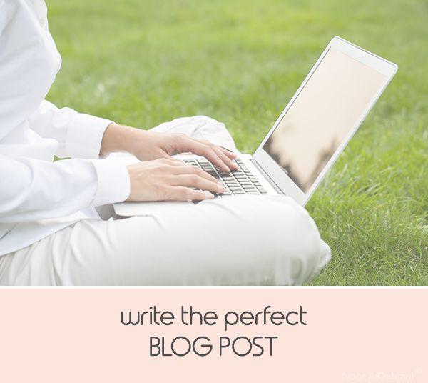 Writing a Blog Post - Noor AlQahtani