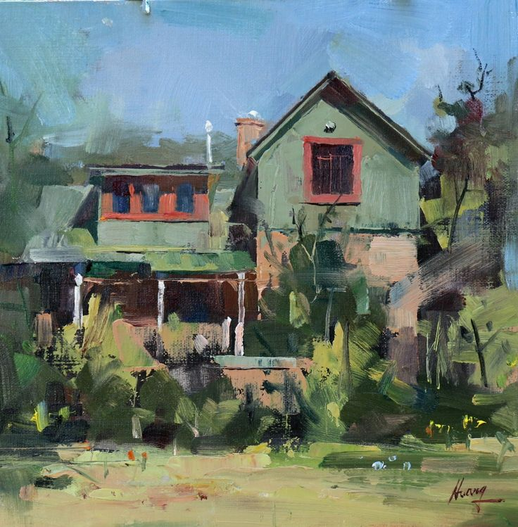 House Paintings 449 best b oil painting- buildings/ houses images on pinterest