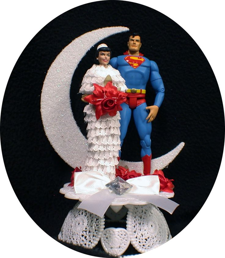 superman and wonder woman wedding cake toppers best 20 superman wedding cake ideas on 20615