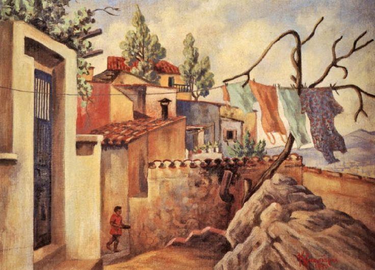 Πλακωτάρης Κώστας-Αναφιώτικα,1950