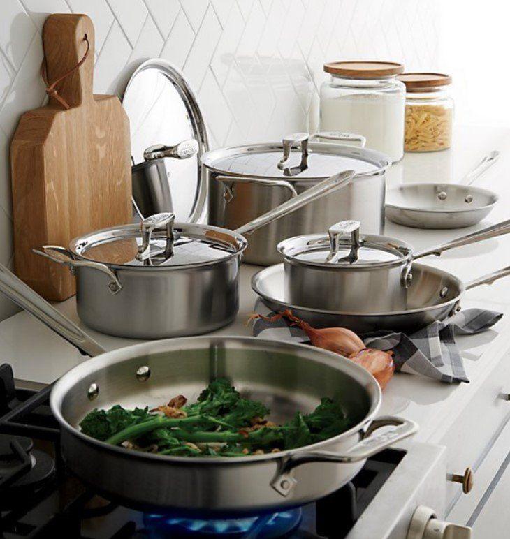 Kitchen Essentials Checklist Crate And Barrel Cookware Set Kitchen Essentials Kitchen Essentials Checklist