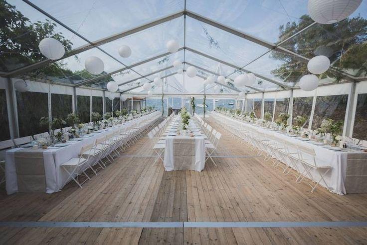 Location de Tente de 10m x 15m 150m2 toit cristal - Louer du matériel de réception - BSL Location