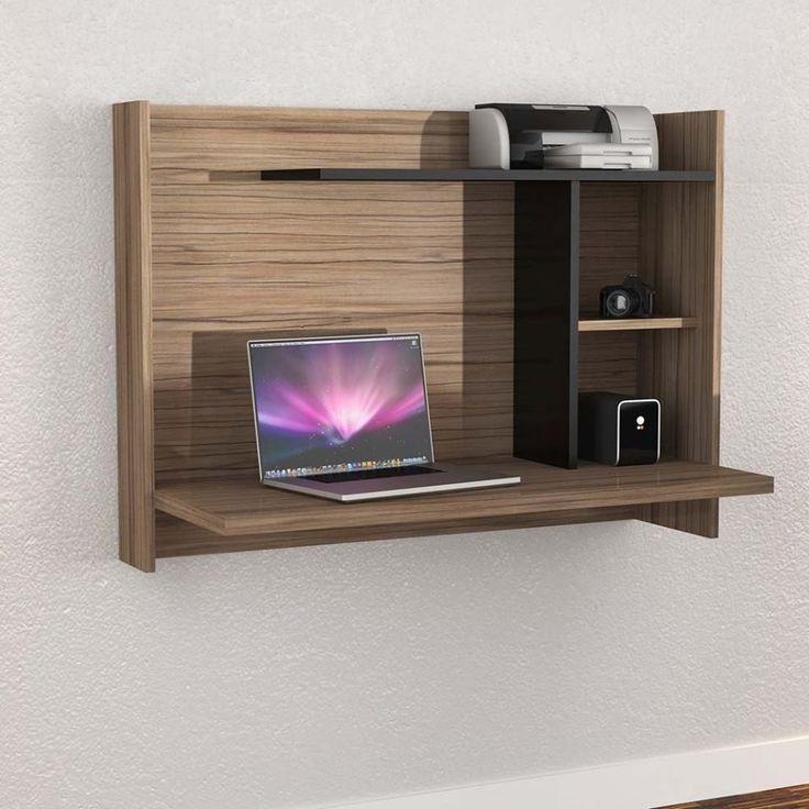M s de 25 ideas incre bles sobre escritorio plegable en - Estanterias pequenas de madera ...