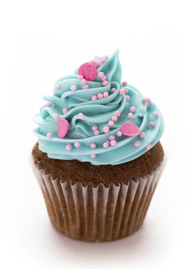 A história e uma receita de cupcake