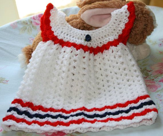 1000  images about Crochet Baby Dress on Pinterest | Crochet baby ...