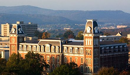 The University of Arkansas in Fayetteville