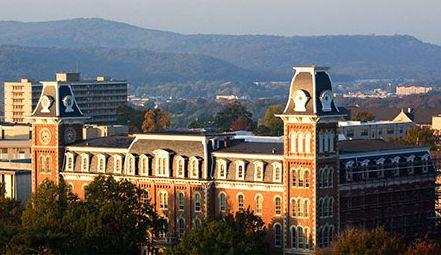 The University of Arkansas in Fayetteville