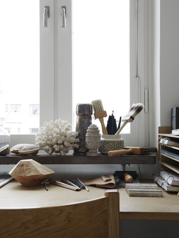 Kinfolk | Emma Olbers workspace