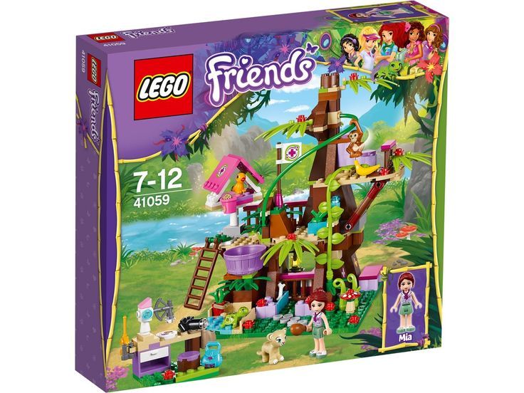 bol.com   LEGO Friends Jungleboom Schuilplaats - 41059,LEGO   Speelgoed