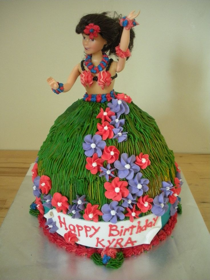 Grass Skirt Cake 15