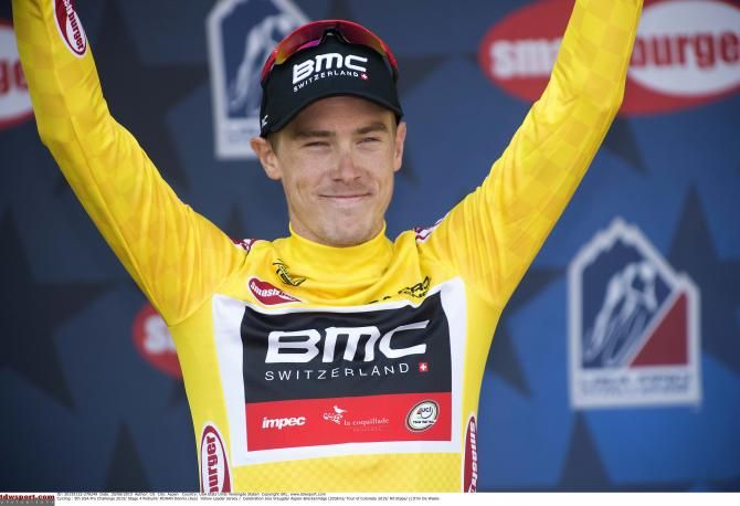 Not enough backing found to do US Pro Challenge in 2017.  (Photo: Rohan Dennis in the leader's yellow jersey at the 2015 USA Pro Challenge