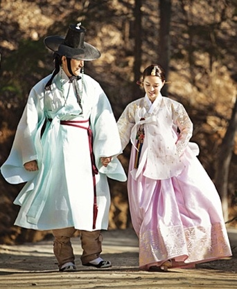 Couple 한복 Hanbok / Traditional Korean dress