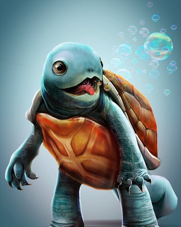 """48 Likes, 1 Comments - GameFame15 (@gamefame15) on Instagram: """"""""Squirtle"""" by LooBoo Tags #videogames #games #gaming #gamer #gamergirl #gamerguy #playstation4…"""""""