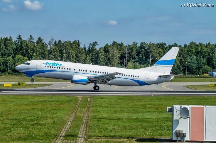 #airport #airplane #gdansk; photo: Michał Kuna