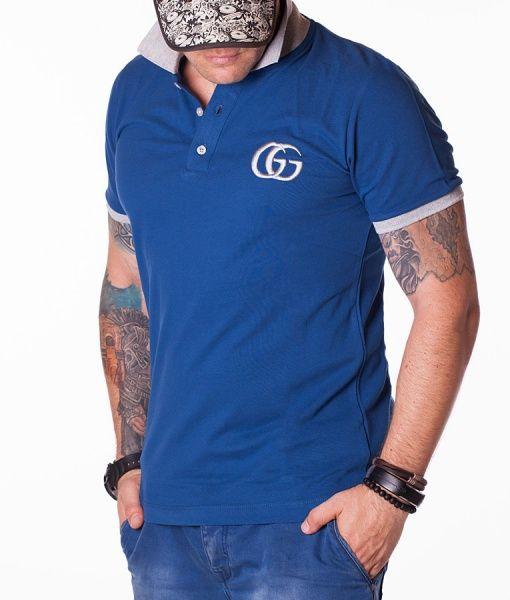 Gucci Tricouri Polo - GG Classic tricou polo albastru