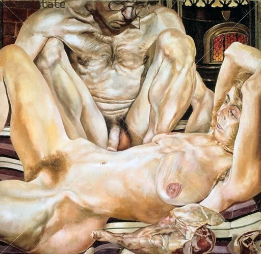 'Double Nude Portrait: The Artist and his Second Wife' Stanley Spencer, 1937 Oil on Canvas
