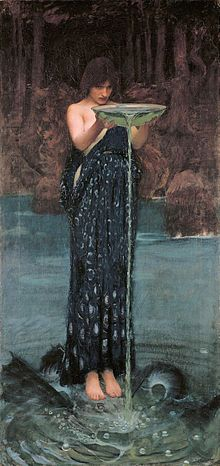 "Circe Invidiosa (""Circe, abounding in envy"") by John William Waterhouse"