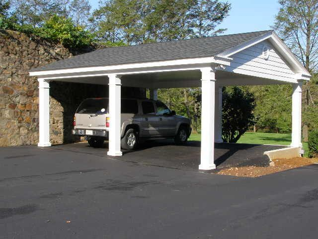 Best 25 2 car carport ideas on pinterest carport for 1 5 car garage plans