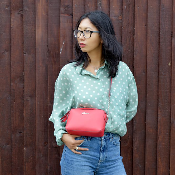 How to Style Loose Polka dot retro style blouse, Gifts that every woman needs