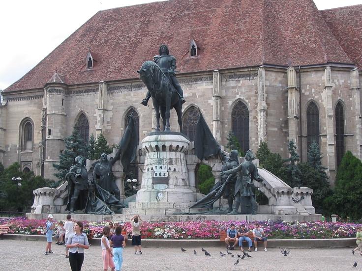 Statue of King Matthias, Kolozsvár (Cluj-Napoca)