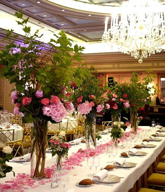 Mariage a l'hotel four seasons george v paris.