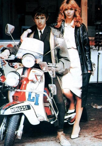 Quadrophenia - made in the 70s, set amidst mod culture in the 60s. Love Lesley Ash's dress here.